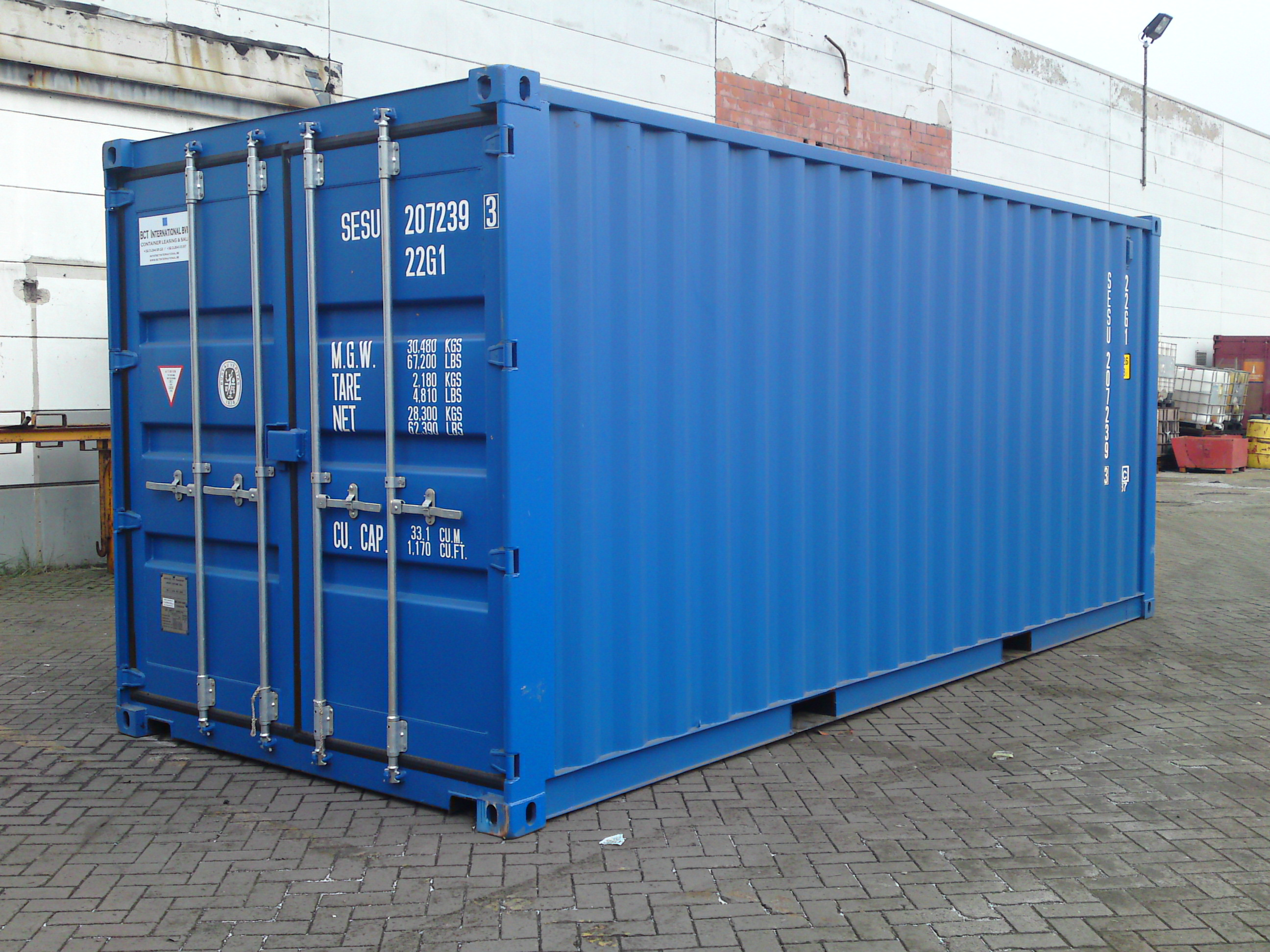Container 20 pieds container 20 conteneur 20 pieds for Plan container 20 pieds