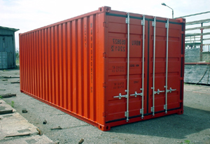 container 107