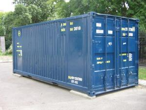 container 114